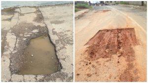 Vereador Gonzaga pede solução para buracos em ruas da Vila Nova