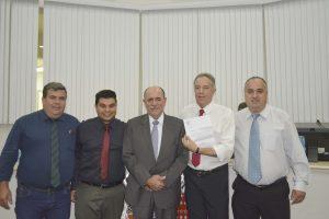 Deputado João Caramez participa de Sessão na Câmara Municipal