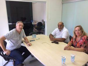 Niltinho Bastos se reúne com representantes do Sindicato dos Servidores Públicos de São Roque