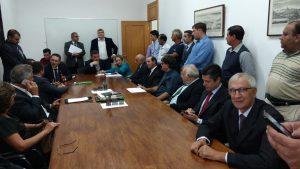 Vereador Etelvino participa de reunião no Palácio do Governo para pedir duplicação da Rodovia Bunjiro Nakao