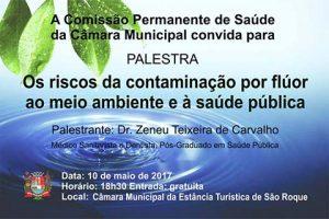 Comissão de Saúde da Câmara promove palestra sobre os riscos e benefícios do flúor