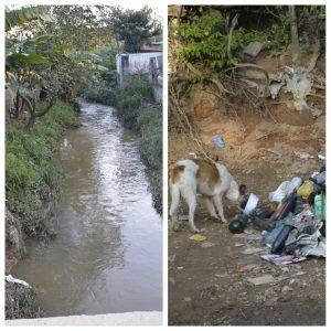 Vereador Alexandre Pierroni busca manutenção de córrego e solução para descarte de lixo em São João Velho