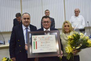 Câmara Municipal concede Título de Cidadão São-Roquense a Domenico Vallorani