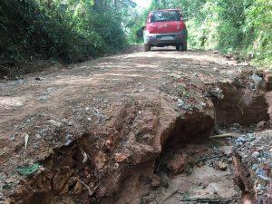 Rafael Tanzi cobra manutenção de estradas rurais em Maylasky
