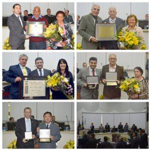 Câmara Municipal entrega homenagens em Sessão Solene do Aniversário de São Roque