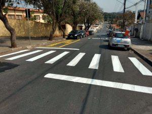 Após reivindicação do Vereador Cabo Jean são realizadas melhorias na sinalização do Bairro Santo Antônio