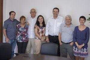 Vereador Alexandre Pierroni se reúne com Deputado Vitor Lippi e com representantes da Santa Casa de São Roque