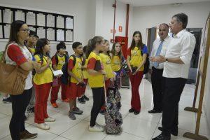 Alunos visitam a Câmara Municipal de São Roque