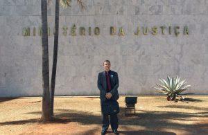 Vereador Cabo Jean vai à Brasília e pleiteia quase R$2 milhões para São Roque