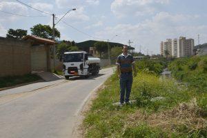 Alexandre Pierroni pede melhorias na Rua Vereador Rodolfo Artur Salvetti urgente