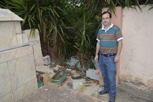 Muro do Cemitério da Paz desaba novamente e Alexandre Pierroni pede solução antes de Finados