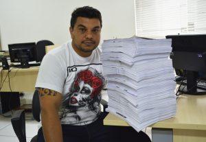 Rafael Tanzi se surpreende com volume de documentos de Resposta de Requerimento sobre Contratos Emergenciais