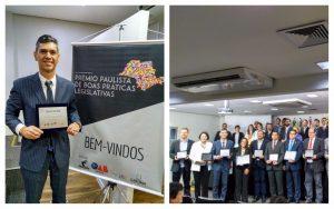 Guto Issa recebe Prêmio Paulista de Boas Práticas Legislativas