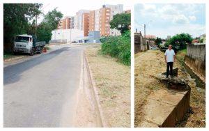Rua Vereador Rodolfo Artur Salvetti recebe melhorias a pedido de Alexandre Veterinário