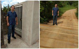 Vereador Alexandre Pierroni se une a moradores para construção de lixeira permanente