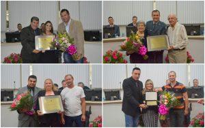 Dia Internacional da Mulher foi comemorado na Câmara Municipal com homenagens