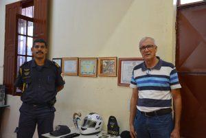 Vereador Etelvino se reúne com Comando da Guarda Municipal para pedir rondas na região do Carmo