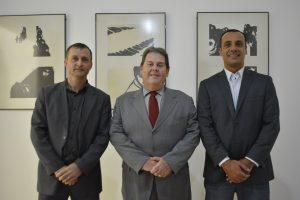 Vereadores Cabo Jean e Marquinho Arruda participam de assinatura de convênio no Palácio dos Bandeirantes