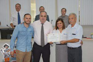 Fundação EPROCAD é homenageada na Câmara Municipal
