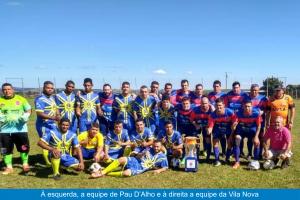 Vereador Julio Mariano foi conhecer a ligação da Vila Nova com o distrito paranaense Pau D'Alho