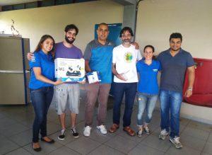 Vereador Rafael Tanzi consegue doação de câmeras de monitoramento para Escola Estadual de Maylasky