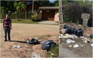 Vereador Alexandre Pierroni pede caçambas de lixo e regularidade na coleta por nova empresa
