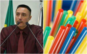 Projeto de Lei de Marreiro que proíbe fornecimento de canudos plásticos continua em tramitação na Câmara