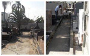 Cobranças do Vereador Cabo Jean resultam em melhorias nos Cemitérios Municipais