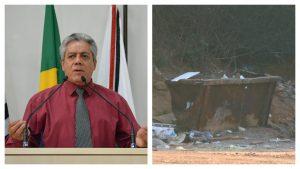 Vereador José Luiz reivindica ampliação da coleta de lixo