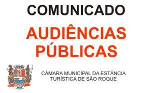 Câmara concede Audiências Públicas ao Poder Executivo para apresentação do cumprimento das metas fiscais do 3° quadrimestre de 2018