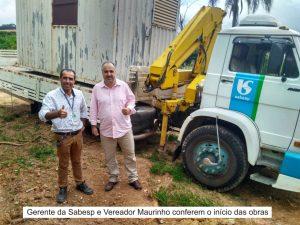 Rede de água será instalada no Bairro do Cascavel após reivindicação do Vereador Maurinho