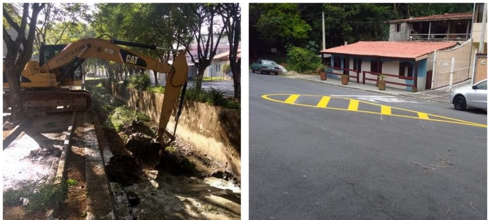 Vereador Cabo Jean acompanha serviços de melhorias na Av. 16 de Agosto no Bairro do Junqueira