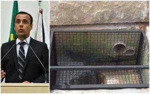 Vereador Marquinho Arruda pede estudo de viabilidade para instalação de 'bueiros inteligentes'