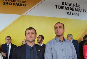 Vereadores Marquinho Arruda e Cabo Jean prestigiam aniversário da ROTA