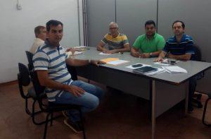 Vereadores se reúnem com Diretor de Planejamento para tratar de obras públicas em andamento no município