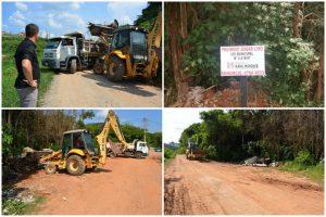Após reivindicação do Vereador Cabo Jean, lixo é retirado da Rua Vereador Rodolfo Arthur Salvetti
