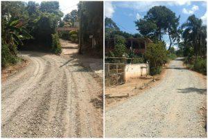 Cabo Jean acompanha serviços de melhorias em ruas do bairro Monte Serrat