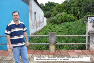 Alexandre Pierroni pede obras, melhorias e área de lazer para os bairros Cambará e Santo Antônio