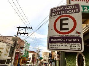 """""""Força-tarefa reativa serviço de Zona Azul em São Roque"""", diz Marquinho Arruda"""