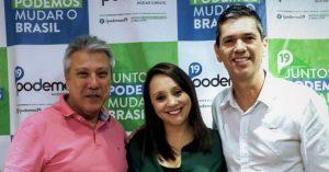 Guto Issa pede à Deputada Federal Renata Abreu Emenda Parlamentar de R$300 mil para Santa Casa