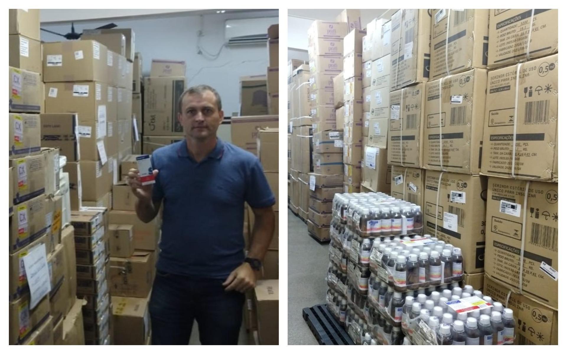 Vereador Cabo Jean confere funcionamento da farmácia municipal