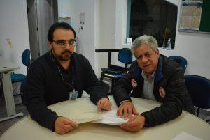 Vereador José Luiz vai à Cetesb para obter informações sobre abertura do Hospital São Francisco