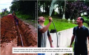 Marquinho Arruda comemora água potável na Estrada Dona Nega e continua seu trabalho por mais saúde à população