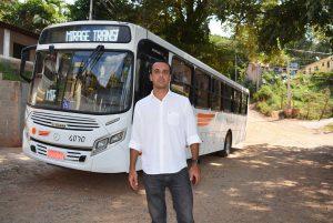 Vereador Marquinho Arruda confirma que Estrada do Candor terá linha de ônibus pela primeira vez