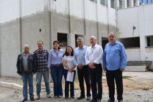 Presidente da Câmara recebe Deputado Herculano Passos que visita a Santa Casa