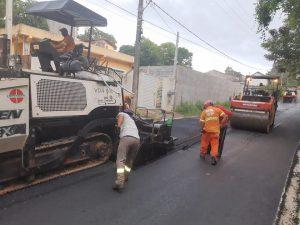 Vereador Rafael Marreiro comemora conclusão do asfaltamento em via de São João Novo