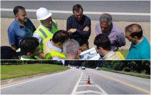 Vereador Cabo Jean participa acompanha visita técnica e cobra responsáveis por melhorias na Rodovia Raposo Tavares
