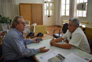 Vereador José Luiz se reúne com Diretor do DER para reivindicar melhorias