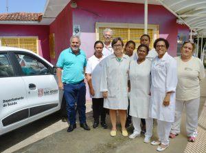 Vereador Julio Mariano comemora a conquista do 4º veículo para os Postos de Saúde de São Roque