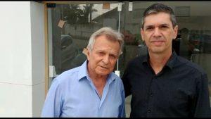 Vereador Guto Issa recebe visita do Deputado Ataíde Teruel
